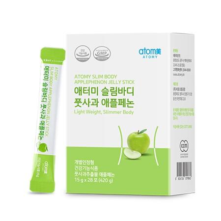 Atomy Slim Body Apple Phenon Jelly Stick